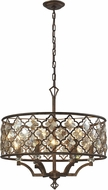 ELK 31097-6 Armand Weathered Bronze Pendant Lighting