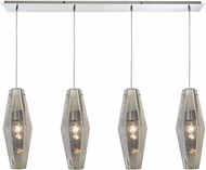 ELK 31216-4LP Pelham Modern Polished Chrome Multi Hanging Lamp