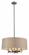 ELK 31335/4 Jorgenson Contemporary Polished Nickel Chandelier With Shade