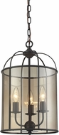 ELK 31396-3 Fenton Oil Rubbed Bronze Foyer Lighting