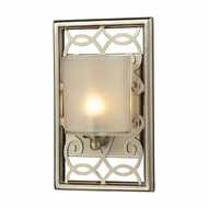ELK 31426-1 Santa Monica Aged Silver Halogen Wall Sconce Lighting