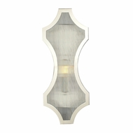 ELK 31455-1 Benicia Contemporary Polished Nickel Wall Lighting Fixture