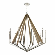 ELK 31476-10 Madera Modern Polished Nickel Lighting Chandelier