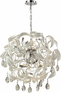 ELK 31546-18 Zebula White Halogen Drop Lighting