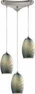 ELK 31620-3 Tidewaters Modern Satin Nickel Multi Hanging Light Fixture