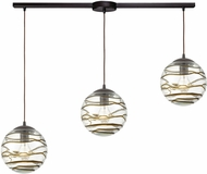 ELK 31753-3L Vines Modern Oil Rubbed Bronze Multi Lighting Pendant