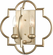 ELK 31799-2 Chandette Contemporary Aged Silver Lighting Wall Sconce