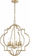 ELK 31808-6 Chandette Contemporary Aged Silver Foyer Light Fixture