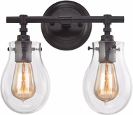 ELK 31931-2 Jaelyn Contemporary Oil Rubbed Bronze 2-Light Bathroom Wall Sconce