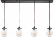 ELK 31934-4LP Jaelyn Contemporary Oil Rubbed Bronze Multi Ceiling Pendant Light