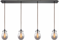 ELK 31935-4LP Jaelyn Contemporary Oil Rubbed Bronze Multi Pendant Light