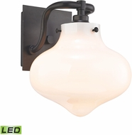 ELK 31950-1-LED Kelsey Contemporary Oil Rubbed Bronze LED Wall Sconce Lighting