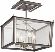 ELK 31961-4 Ridgeview Contemporary Weathered Zinc Polished Nickel Home Ceiling Lighting