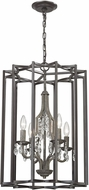 ELK 32151-4 Belgique Oil Rubbed Bronze Malted Rust Foyer Lighting Fixture