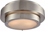 ELK 32224-3 Layers Modern Satin Nickel Ceiling Light