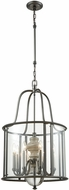 ELK 32312-8 Neo Classica Aged Black Nickel Foyer Lighting Fixture