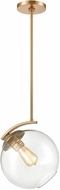 ELK 32351-1 Collective Contemporary Satin Brass Mini Pendant Lamp
