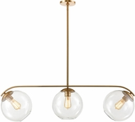 ELK 32352-3 Collective Modern Satin Brass Island Lighting
