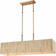 ELK 32414-5 Abaca Satin Brass Kitchen Island Lighting