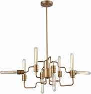 ELK 32991-8 Transit Contemporary Matte Gold 24  Chandelier Light