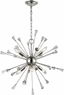 ELK 33030-6 Sprigny Polished Nickel 25  Chandelier Lighting