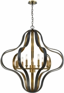 ELK 33165-9 Janis Contemporary Aged Bronze / Aged Brass 36  Lighting Pendant
