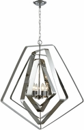 ELK 33173-6 Anguluxe Contemporary Polished Chrome 32  Pendant Light Fixture