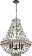 ELK 33194-5 Summerton Modern Washed Gray / Malted Rust 24  Entryway Light Fixture