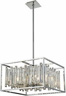 ELK 33243-6 Rivona Polished Chrome 21  Hanging Lamp