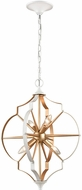 ELK 33395-4 Laguna Beach Modern Gold / White 18  Pendant Lighting