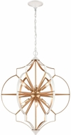 ELK 33396-6 Laguna Beach Contemporary Gold / White 26  Pendant Light
