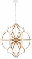 ELK 33397-8 Laguna Beach Modern Gold / White 35  Lighting Pendant