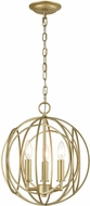 ELK 33415-3 Loughton Contemporary Golden Silver 14  Pendant Lamp