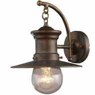 ELK 42006-1 Maritime Nautical Outdoor 12 inches high Wall Sconce