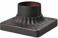 ELK 43003CB Outdoor Accessories Clay Bronze Exterior Post Mount