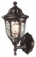 ELK 45000/1 Glendale Small Lower Mounting Regal Bronze Outdoor Wall Light