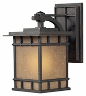 ELK 45011/1 Newlton Craftsman 15 Inch Tall Weathered Copper Exterior Sconce - Medium