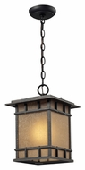 ELK 45013/1 Newlton 9 Inch Wide Weathered Charcoal Craftsman Outdoor Wall Light
