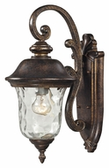 ELK 45020/1 Lafayette Small Traditional Regal Bronze 16 Inch Tall Outdoor Wall Light