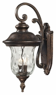 ELK 45021/2 Lafayette Medium 22 Inch Tall Regal Bronze Traditional Outdoor Wall Sconce