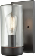ELK 45025-1 Ambler Contemporary Oil Rubbed Bronze Outdoor Lighting Wall Sconce