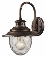 ELK 45030/1 Searsport Traditional 13 Inch Tall Exterior Wall Lighting - Regal Bronze