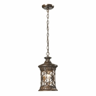 ELK 45083-1 Orlean Traditional Hazelnut Bronze Exterior Lighting Pendant