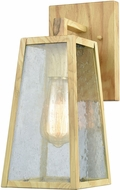 ELK 45098-1 Meditterano Birtchwood Exterior Wall Sconce Lighting