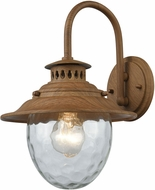 ELK 45140-1 Searsport Dark Wood Exterior Wall Light Sconce