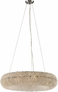 ELK 45292-10 Crystal Ring Polished Chrome 28  Ceiling Pendant Light