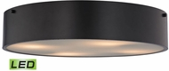 ELK 45321-4-LED Clayton Modern Oil Rubbed Bronze LED Flush Mount Lighting Fixture