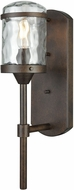 ELK 45410-1 Torch Modern Hazelnut Bronze Outdoor Wall Sconce Light