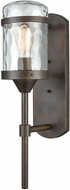 ELK 45411-1 Torch Contemporary Hazelnut Bronze Exterior Wall Sconce
