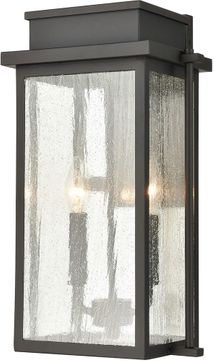 ELK 45441-2 Braddock Traditional Architectural Bronze Outdoor 10 Wall Sconce Lighting